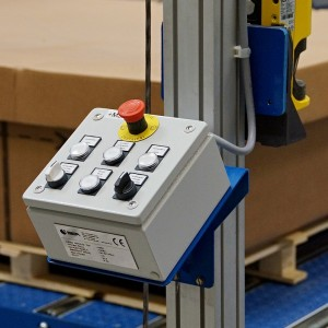 Control panel workplace packaging lines