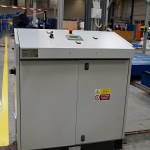 Packing line control panel