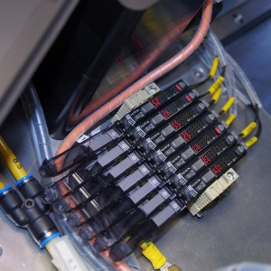 Heat stake riveting - KEYENCE amplifier