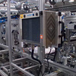 Stavba linky - Laserové značení výrobku