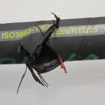 Zkouška hydraulické hadice