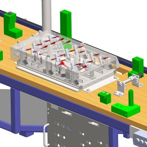 Threads checking device 3D Model