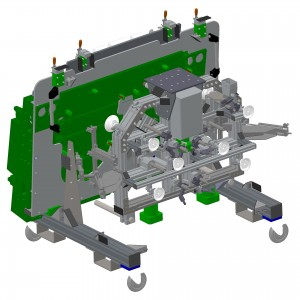 3D model of tools for robotic cell