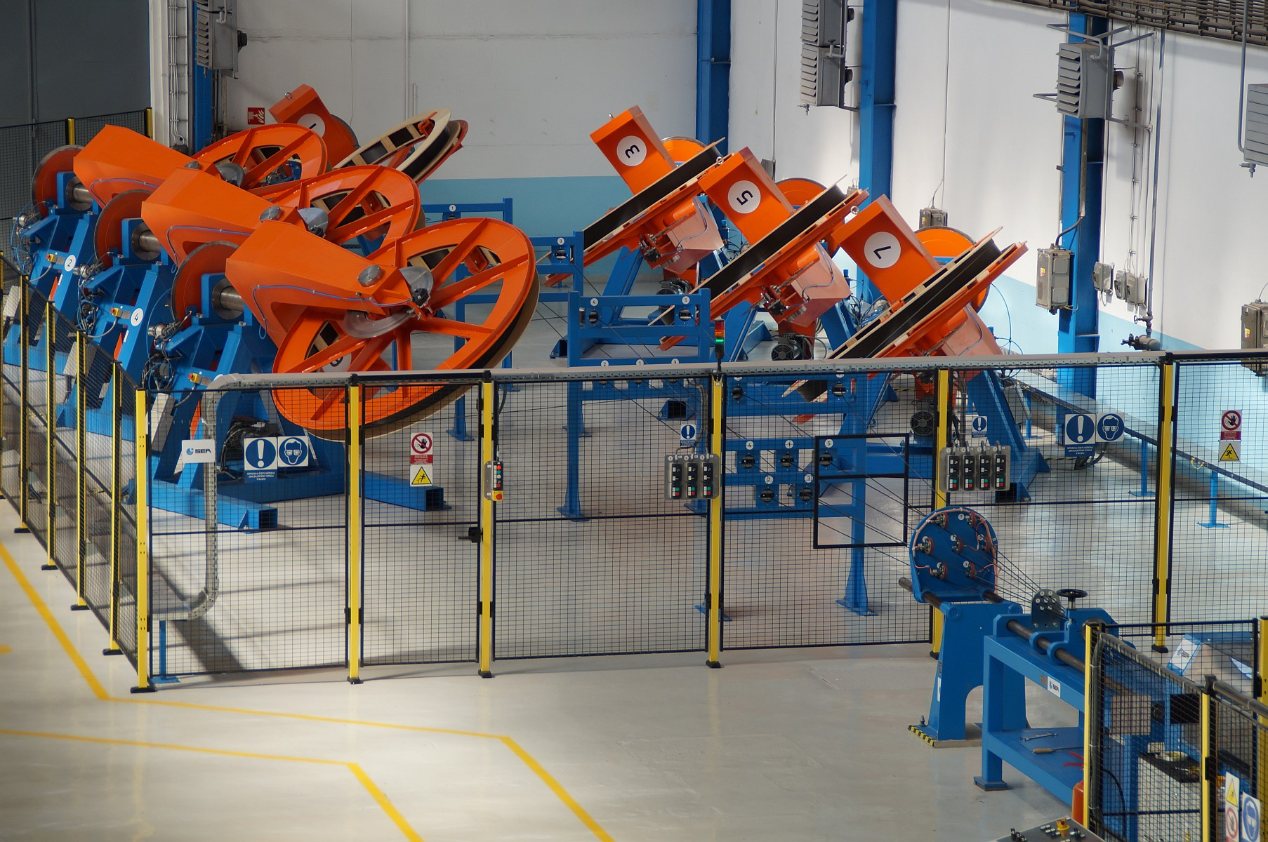 Pay-offs in production line