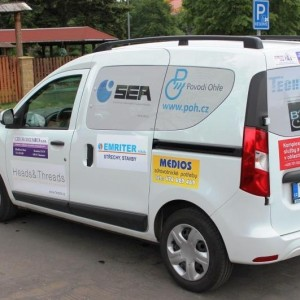 Auto pomáhá seniorům pro Sociální služby Chomutov